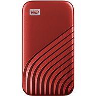 WD My Passport SSD 2TB Red - Externí disk