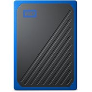 WD My Passport GO SSD 500GB Blue - External Hard Drive