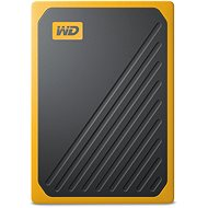 WD My Passport GO SSD 500GB žlutý