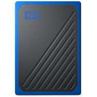 WD My Passport GO SSD 2TB blue - External Hard Drive