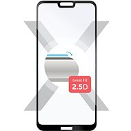 FIXED Full-Cover pro Huawei P20 Lite černé - Ochranné sklo