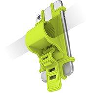 CELLY EASY BIKE pro telefony k upevnění na řídítka zelený - Pouzdro na mobilní telefon