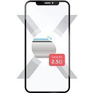 FIXED pro Samsung Galaxy A6+ černé - Ochranné sklo