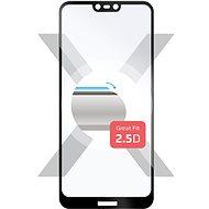 FIXED Full-Cover pro Nokia 7.1 přes celý displej černé - Ochranné sklo