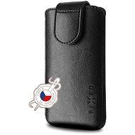 FIXED Sarif 6XL černé - Pouzdro na mobilní telefon
