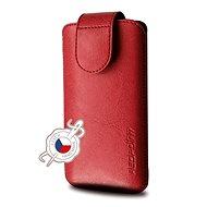 FIXED Sarif 5XL+ červené - Pouzdro na mobilní telefon