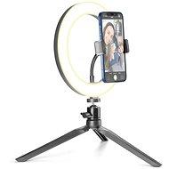 Cellularline Selfie Ring s LED osvětlením pro selfie fotky a videa černý