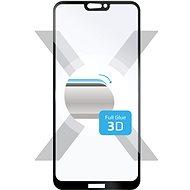 FIXED 3D Full-Cover pro Huawei P20 Lite černé - Ochranné sklo