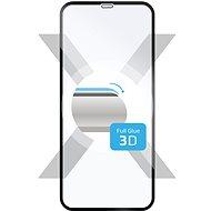 FIXED 3D Full-Cover pro iPhone XS Max/11 Pro Max černý - Ochranné sklo
