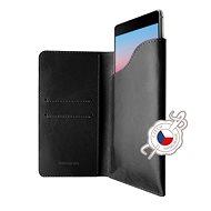 FIXED Pocket Book pro Apple iPhone X/XS šedé - Pouzdro na mobilní telefon
