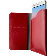 FIXED Pocket Book pro Apple iPhone X/XS červené - Pouzdro na mobilní telefon