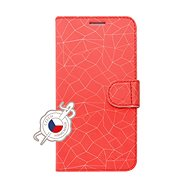 FIXED FIT pro Xiaomi Redmi 7 motiv Red Mesh - Pouzdro na mobilní telefon