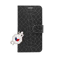 FIXED FIT pro Xiaomi Redmi Note 7/7 Pro motiv Grey Mesh - Pouzdro na mobilní telefon