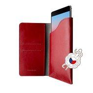 FIXED Pocket Book pro Apple iPhone 6 Plus/6S Plus/7 Plus/8 Plus/XS Max červené - Pouzdro na mobilní telefon