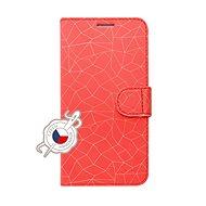 FIXED FIT pro Samsung Galaxy A40 motiv Red Mesh - Pouzdro na mobilní telefon