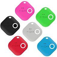 FIXED Smile s motion senzorem 6-PACK, černý šedý červený modrý zelený růžový - Bluetooth lokalizační čip