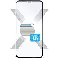 FIXED 3D Full-Cover pro Samsung Galaxy A7 (2018) černé - Ochranné sklo