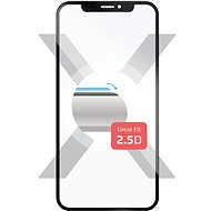 FIXED Full-Cover pro Samsung Galaxy A7 (2018) černé - Ochranné sklo
