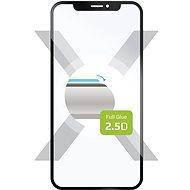 FIXED FullGlue-Cover pro Samsung Galaxy A7 (2018) černé - Ochranné sklo