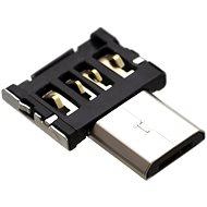 FIXED micro USB OTG mini černý - Redukce