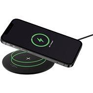 FIXED SlimPad 15W černá - Bezdrátová nabíječka