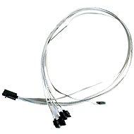 Microsemi ADAPTEC I-HDmSAS-4SATA-SB 0.8m - Datový kabel