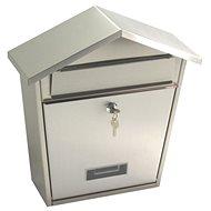G21 Poštovní schránka LORI 320x380x105 nerez - Poštovní schránka