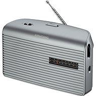 GRUNDIG Music 60 stříbrná - Rádio