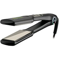 Gamma Piú Extra Pro Nano Titanio XL LCD - titanová - Žehlička na vlasy