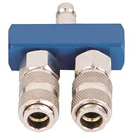 Scheppach Air Splitter with 2 Quick Couplings - Accessories
