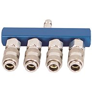 Scheppach 4-way air manifold and splitter - Accessories