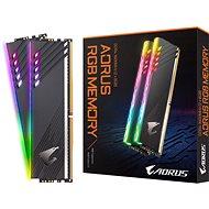 GIGABYTE AORUS 16GB KIT DDR4 3600MHz CL18 RGB - Operační paměť