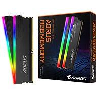GIGABYTE AORUS 16GB KIT DDR4 3333MHz CL18 RGB - Operační paměť