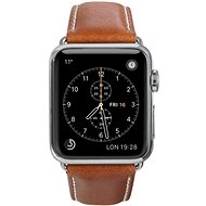 dbramante1928 Copenhagen Apple Watch Strap 38 & 40mm - Tan/Silver - Řemínek
