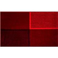 GRUND DIVISO Koupelnová předložka 60x100 cm, rubínová - Koupelnová předložka