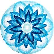 GRUND NEBESKÝ MÍR Mandala kruhová o 100 cm, modrá - Koupelnová předložka