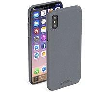 Krusell SANDBY pro Apple iPhone X, kamenně šedá - Ochranný kryt