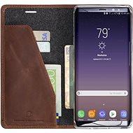 Krusell SUNNE 4 CARD Foliocase pro Samsung Galaxy Note 8, koňaková - Pouzdro na mobilní telefon