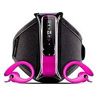 Energy Sistem Active 2 Neon Fuchsia 4GB - MP3 přehrávač
