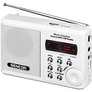 Sencor SRD 215 W bílé - Rádio