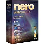 Nero 2018 Platinum CZ - Vypalovací software