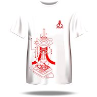 Atari T-Shirt – Iconic Joystick Blueprint S - Tričko