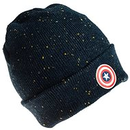 Captain America Beanie With Logo - Čepice