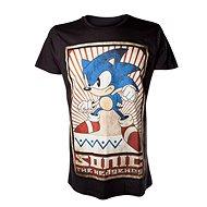 Sonic - černé - Tričko