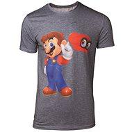 Super Mario - Odyssey Mario&Cappy - Tričko