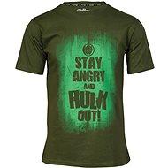 Marvel Hulk Slogan - Tričko