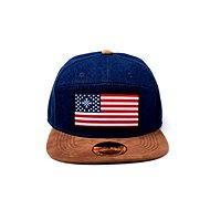 Far Cry 5 - American Flag Denim snapback - Kšiltovka