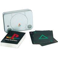 PlayStation - hrací karty se symboly PS - Karty