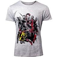 Marvel Avengers: Infinity War Hrdinové - Tričko