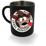 Crash Bandicoot - kovový hrnek - Hrnek